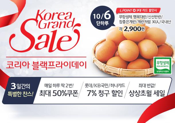대한민국을 쇼핑하라! Korea Grand Sale