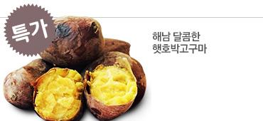 [무료배송] 해남 달콤한 2014년 햇호박고구마3kg(특+상)