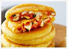 김치 치즈 호떡