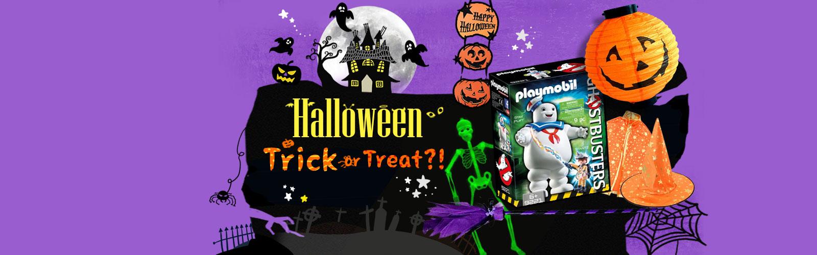 Happy Halloween! Trick or Treat~