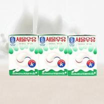 서울 멸균 흰우유(200ML*3입)