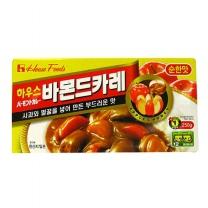 농심 하우스바몬드 순한맛(230G)