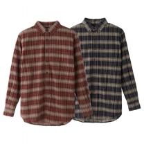 디피렌체 남성 타탄체크 셔츠
