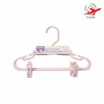 베이비저러스 클립 옷걸이 (핑크)(2PCS)