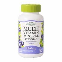 유니가든 멀티비타민미네랄 츄어블 (블루베리맛)(1,300MG*150정)