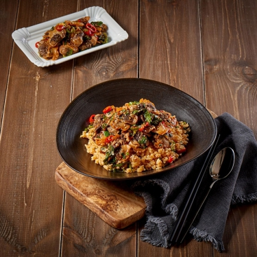 강릉식 꼬막 비빔밥