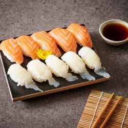 생광어연어초밥세트(10입)