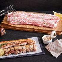 국내산 돼지삼겹살칼집용(냉장)(100G)