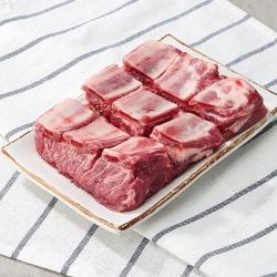 국내산 돼지 갈비 (냉장)(100G)