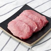 국내산 돼지 등심 (냉장)(100G)