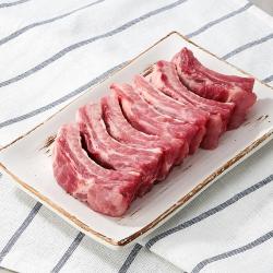 국내산 돼지 등갈비 (냉장)(100G)