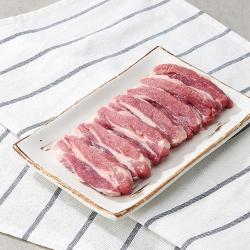 국내산 돼지 등심덧살 (냉장)(100G)