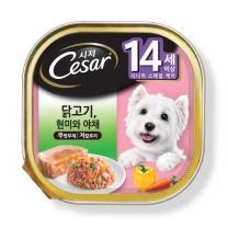 시저 닭고기와 쌀과 야채  (14세 이상)(100G)