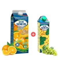 돈시몬 착즙 오렌지주스(2L+1L)