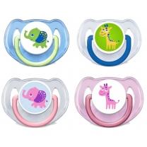 예쁜치아 코끼리 그림 노리개 (6~18개월)(2입)