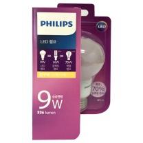 필립스 LED 전구 (전구색)(9W)