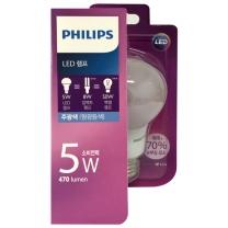 필립스 LED 전구 (주광색)(5W)