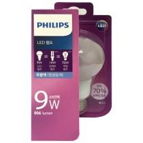 필립스 LED 전구 (주광색)(9W)