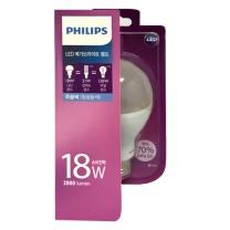 필립스 LED 메가브라이트 전구 (주광색)(18W)