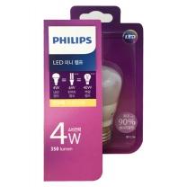 필립스 LED 미니 전구 (전구색)(4W)
