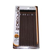 문화 더존 연필 (2B)(10입)