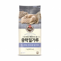 백설 밀가루 (다목적용)(1KG)