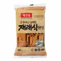 해찬들 재래식된장 (봉)(500G)