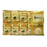 CJ 햇바삭 식탁김(10매*20봉)