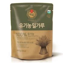 백설 유기농 밀가루(400G)