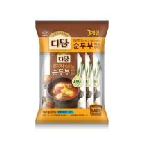 CJ 다담 순두부찌개(140G*3입)