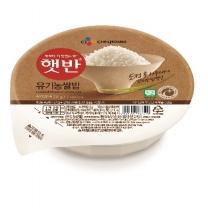 씨제이 햇반 유기농쌀밥(210G)