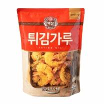 백설 튀김가루(2KG)