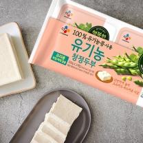 CJ 유기농 두부 (부침+찌개)(300G*2입)