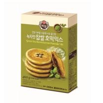 백설 녹차맛 찹쌀 호떡믹스(400G)