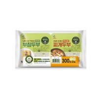 CJ 행복한콩 두부 (부침용+찌개용)(300G*2)