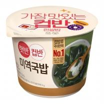 씨제이 컵반 미역국밥(166.8G)
