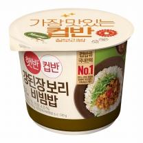 씨제이 컵반 강된장보리비빔밥(280G)