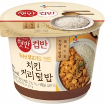 씨제이 컵반 옐로우크림커리덮밥(280G)