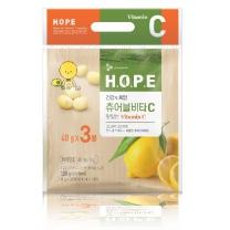 씨제이 H.O.P.E 츄어블 비타C(40G*3입)