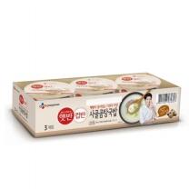 씨제이 햇반 컵반 사골곰탕국밥(166G*3입)