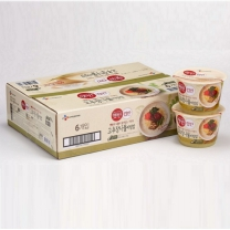 씨제이 컵반 고추장나물 비빔밥(229G*6입)