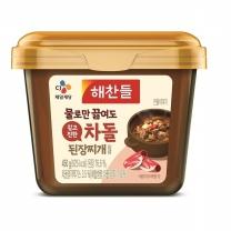 해찬들 그대로 끓여먹는 된장찌개 (쇠고기)(450G)