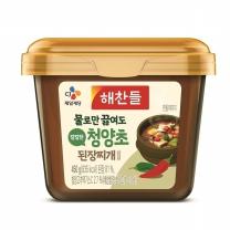 해찬들 그대로 끓여먹는 된장찌개 (청양초)(450G)