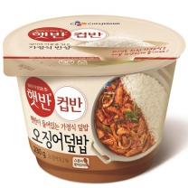 씨제이 컵반 오징어덮밥(230G)