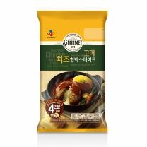 씨제이 고메 치즈함박스테이크 (4인분)(620G)