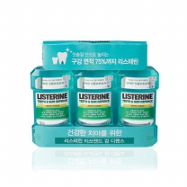 리스테린 가글 (충치예방)(750ML*3개)