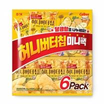 해태 허니버터칩 미니팩(30G*6입)