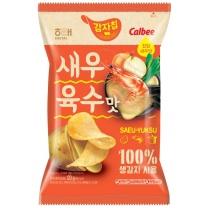 해태 가루비감자칩 새우육수맛(120G)