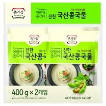 종가집 국산콩 콩국물(400G*2)