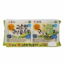 종가집 국산 두부 (부침+부침)(380G*2입)